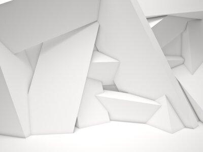Fototapeta 3d geometryczne ściany
