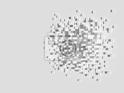 3d geometryczne tle