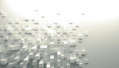 Fototapeta 3d geometryczne tle