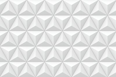 Fototapeta 3D geometryczne trójkątne tekstury