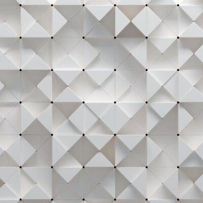 Fototapeta 3d ilustracją wzoru geometrycznego