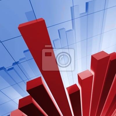 3d obraz stat tle finansowym