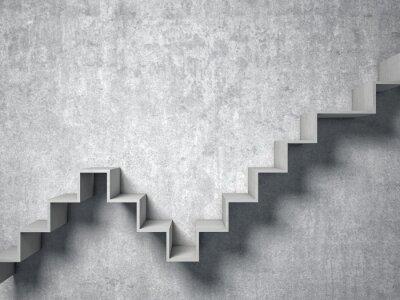 Fototapeta 3d streszczenie schody