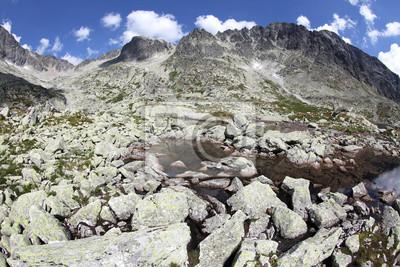 5 Spisskych warstwy - Stawów w Tatrach Wysokich na Słowacji