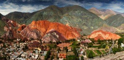 Fototapeta 7 kolorów górskim