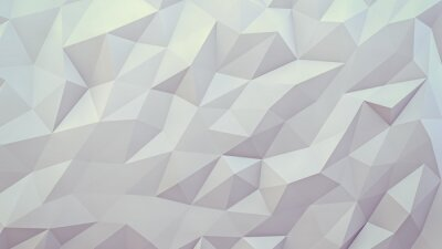 Fototapeta abstract 3d render background. Techno triangular low poly background
