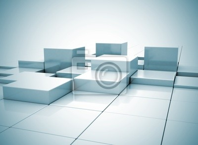 Fototapeta Abstract background box