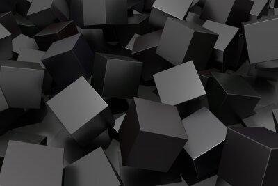 Fototapeta Abstract cube