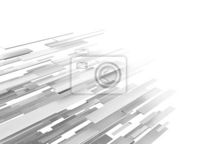 Fototapeta Abstrakcyjna biznesowych tła nauki lub technologii