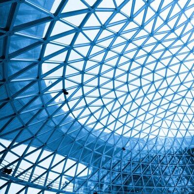 Fototapeta Abstrakcyjna strzał nowoczesny budynek