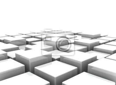 Fototapeta Abstrakcyjna tła 3d bloków