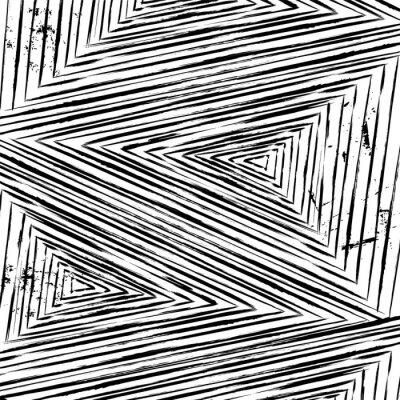 Fototapeta abstrakcyjne geometryczne tła, uderzeniami i odpryskami