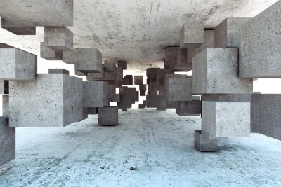 Fototapeta Abstrakcyjne geometryczne tle
