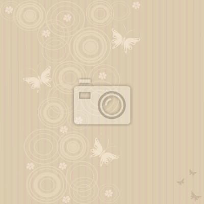 Fototapeta Abstrakcyjne tła z Motyle