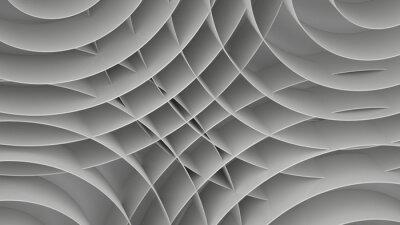 Fototapeta Abstrakcyjne tło z spirale, 3 D renderowania