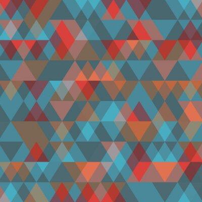 Fototapeta Abstrakcyjne tło z trójkątów. ilustracji wektorowych.