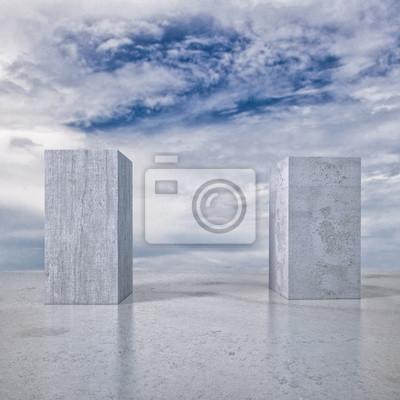 abstrakcyjny krajobraz
