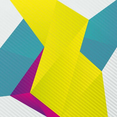 Fototapeta Abstrakt origami