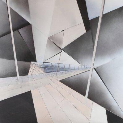 Fototapeta Abstraktes Gemälde