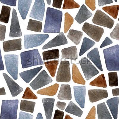 Fototapeta Akwarelową strukturę kamienia dla swoich projektów