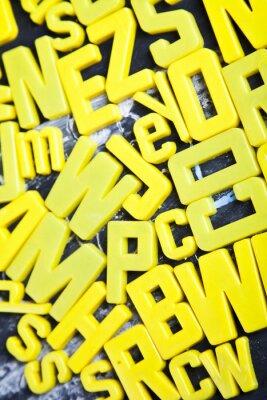 Fototapeta Alfabet, tablica, edukacja