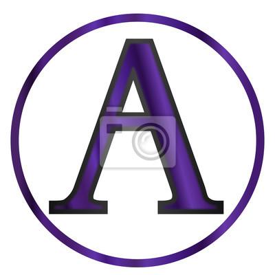 Alpha Grecką Literą Fototapeta Fototapety Archaeologic Mathematic