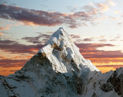 Fototapeta Ama Dablam w drodze do Everest Base Camp
