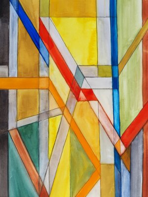 Fototapeta an abstract watercolor painting