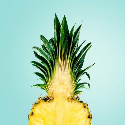 Fototapeta Ananas, owoców, samodzielnie.