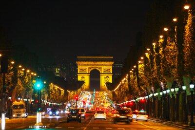 Fototapeta Arc de Triomphe de l'Etoile w Paryżu