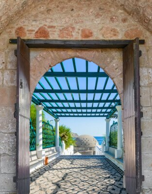 Fototapeta Arch w twierdzy