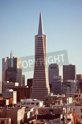 Fototapeta Architektura San Francisco, widok z wysokiego punktu