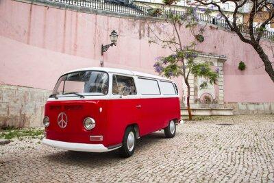 Fototapeta Autour Camping-Car du Monde