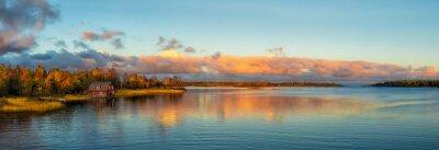 Fototapeta Autumn Sunset