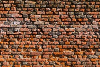 Fototapeta Backstein Wand als tekstury oder hintergrund