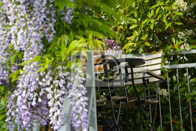 Fototapeta Balkon z miejscami do siedzenia