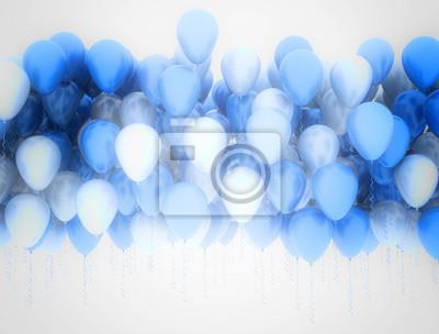 Fototapeta Balony tle
