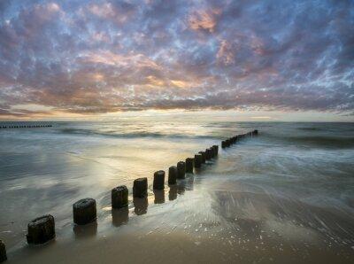 Fototapeta Bałtycki zachód słońca