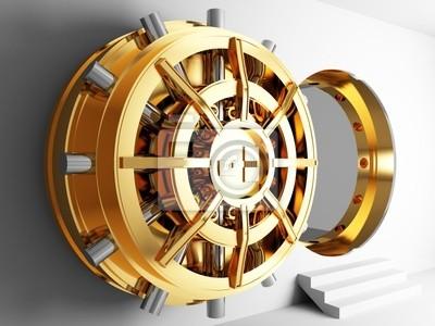 Bank Vault drzwi 3D