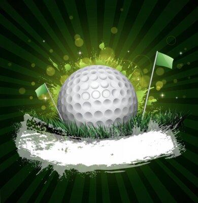 Fototapeta banner golfowe