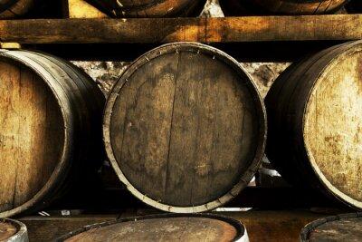 Fototapeta Beczki do wina