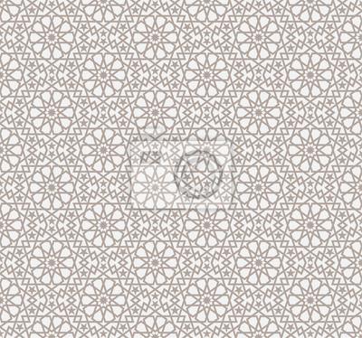 Fototapeta bez szwu deseń w stylu islamskiej