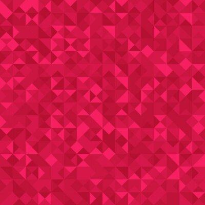 Fototapeta Bez szwu Streszczenie deseń: monochromatyczne ciemno różowe tło z efektem holograficznym.
