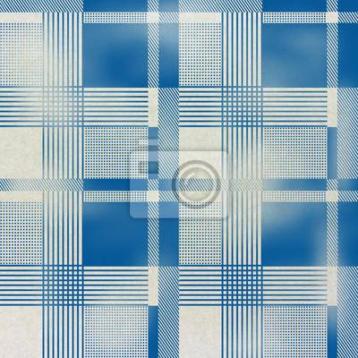 Fototapeta bez szwu tartan wzór na tekstury papieru