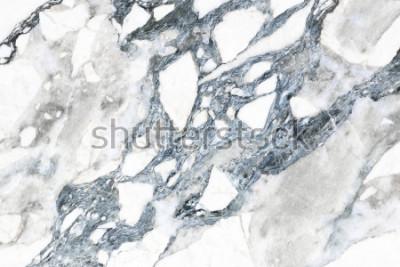 Fototapeta Biała marmurowa tekstura z ogólnym wzorem dla tła