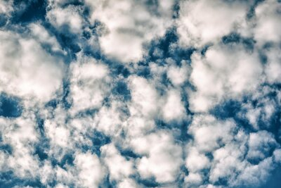 Fototapeta Białe chmury w błękitne niebo w ciągu dnia