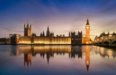 Fototapeta Big Ben i House of Parlament