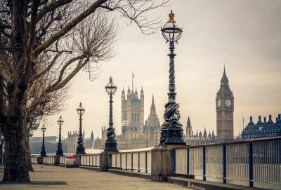 Fototapeta Big Ben i Houses of Parliament, Londyn