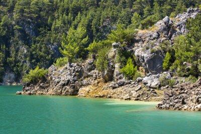 Fototapeta Big Green Canyon Nature Reserve in Turkey