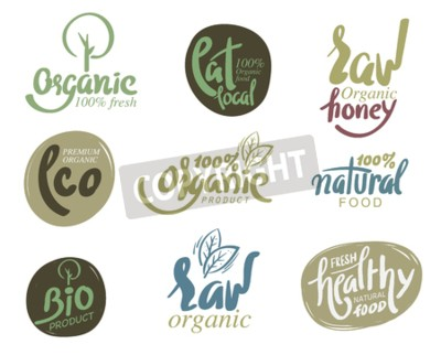 Fototapeta Bio Organiczne Bezglutenowe Bio Bio Zdrowe Jedzenie Restauracja
